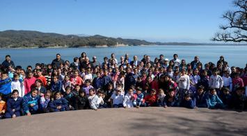 Alumnos del interior tucumano disfrutan de su provincia