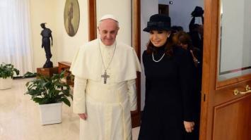 CFK viaja hacia Italia a reunirse con el Papa