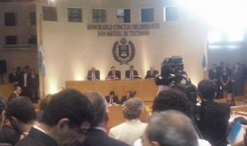 Amaya abrió el período de sesiones del Concejo Deliberante