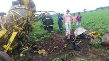 Cayó una avioneta cerca de Alberdi: hay un herido