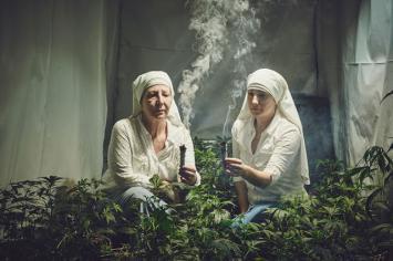 Las monjas que hablan de faso