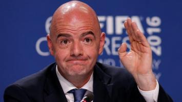 El presidente de la FIFA explicó cómo sería un Mundial con 48 equipos