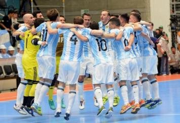 Mundial Futsal: la Argentina pasó a semifinales