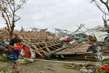 Un potente tifón dejó ocho muertos en China y Taiwán