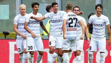 Udinese sorprendió al Milan con lo justo