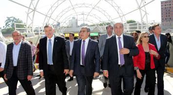 Manzur inaugura el primer túnel del Paseo del Bicentenario
