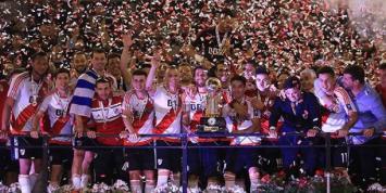 River se coronó bicampeón de la Recopa Sudamericana