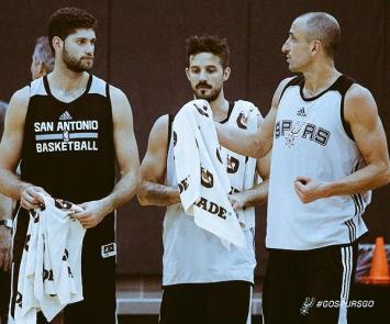 NBA: San Antonio Spurs y un tuit dedicado al trío