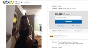 Se cansó y vendió a su mujer por internet