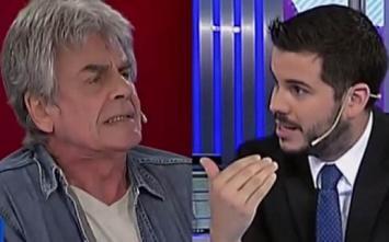 Raúl Rizzo criticó con dureza al Gobierno y Nicolás Magaldi le pidió que se retire del estudio