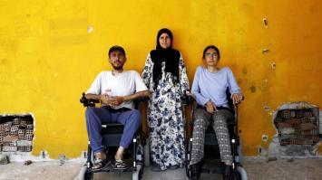 Una travesía de 2500 kilómetros en silla de ruedas para escapar de la guerra en Siria