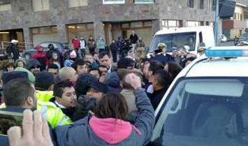 Detienen a gremialistas en Tierra del Fuego