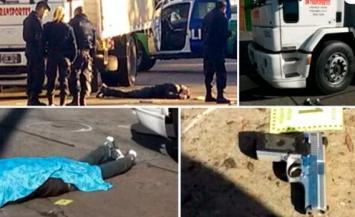 Un camionero asesinó de siete balazos a un ladrón que lo asaltó