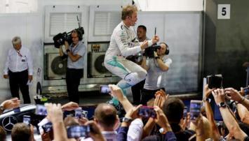 Rosberg ganó en Singapur y es el nuevo líder de la F1