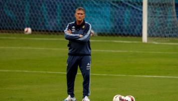 Selección: Bauza paró el equipo que jugaría ante Perú