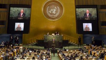 Varios países se retiraron de la Asamblea de la ONU cuando habló Temer