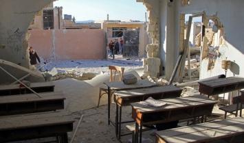 Trágico bombardeo en Siria: murieron 22 nenes y 6 maestros en una escuela