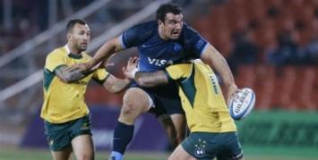 Los errores les costaron caros a Los Pumas, que cayeron frente a Australia en la Rugby Championship