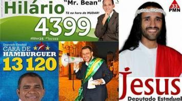Mirá los candidatos más insólitos a la presidencia de Brasil
