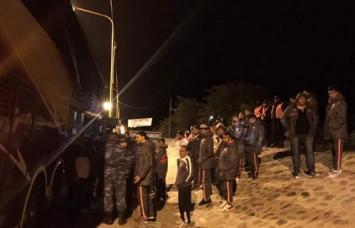La Policía de Catamarca requisó al plantel de San Martín