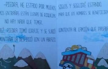 San Juan financió libros infantiles para convencer a los chicos sobre las bondades de la minería