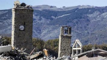Un violento terremoto vuelve a sacudir el centro de Italia