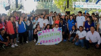 Manzur celebró el Día de la Sanidad junto a trabajadores de ATSA