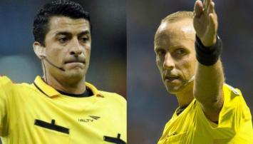 Ricci y Fedorczuk, los árbitros de la Selección Argentina