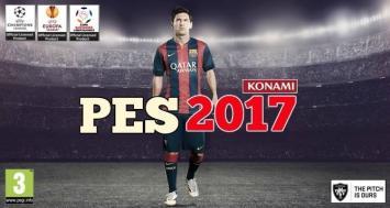 Salió el PES 2017 con Messi como estrella indiscutida
