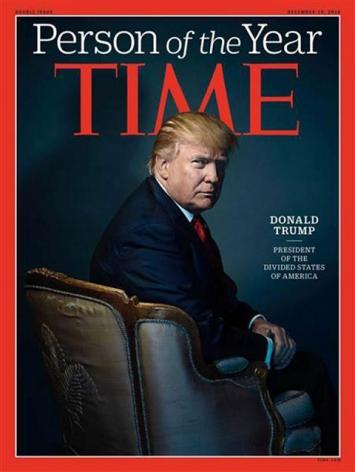 """Time eligió a Donald Trump como """"Persona del año"""" con una dura ironía en su portada"""