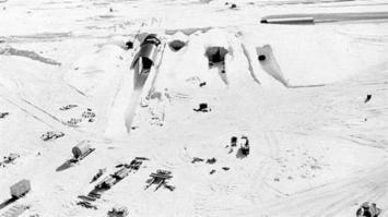 Apareció una antigua base secreta de Estados Unidos en Groenlandia