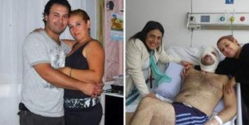 Quedó discapacitado y casi muere por salvar a dos nenas