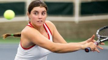 Una tenista fue sancionada en Estados Unidos por festejar en español