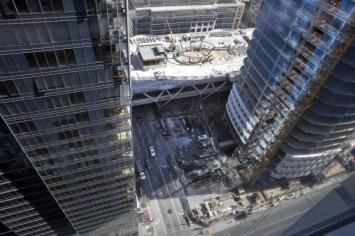 Un rascacielos en San Francisco se hunde más de lo previsto