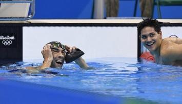 Se quiere morir: lo tachó en Tinder y él le ganó el oro a Michael Phelps