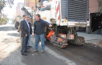 Iniciarán este miércoles las obras de repavimentación de la avenida Juan B. Justo