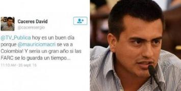 David Cáceres, el concejal kirchnerista que pidió que las FARC secuestraran a Macri: Fue un error