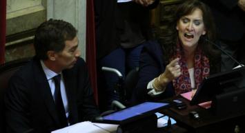 Senado: Un sindicalista agredió a Michetti