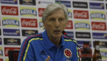 """Pekerman: """"Colombia no tiene suplentes"""""""