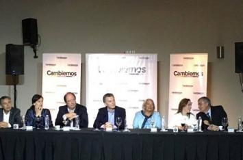 Macri relanzó la Mesa Nacional de Cambiemos junto a Sanz y Carrió