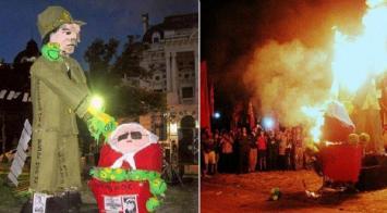 Parodi criticó a HIJOS La Plata por quemar un muñeco de Hebe de Bonafini