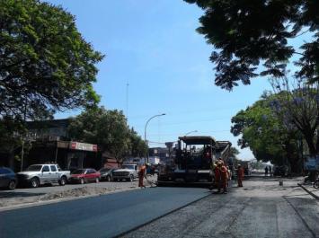La avenida Juan B. Justo ya está repavimentada entre España y México