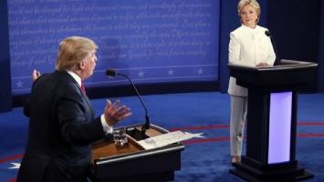 Las diez frases del último debate entre Clinton y Trump