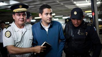 El hijo y el hermano del presidente de Guatemala son capturados por corrupción