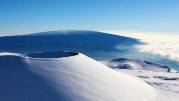 En las redes hablan del fin del mundo: nevó en un lugar insólito