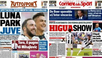 Italia, rendida a los pies de Higuaín