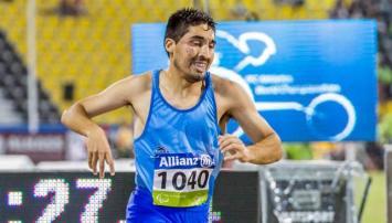 Mariano Domínguez se quedó con un diploma paralímpico