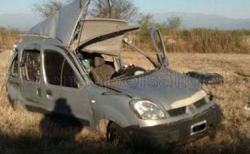 Una mujer de Tafí Viejo murió en un accidente de tránsito en el límite entre Salta y Tucumán