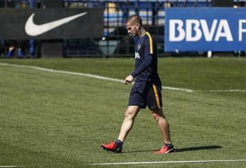 La lesión de Benedetto preocupa a todo Boca