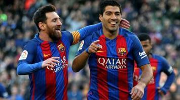 El Barcelona de Messi goleó a Las Palmas en el Camp Nou